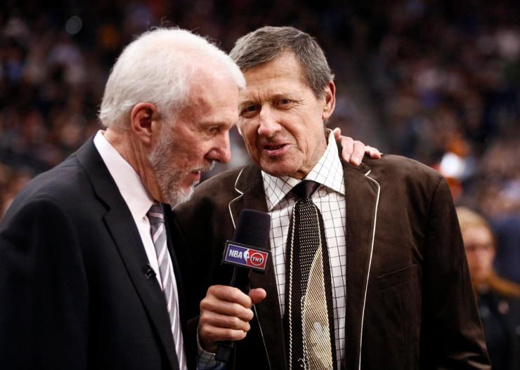 USP NBA: CLEVELAND CAVALIERS AT SAN ANTONIO SPURS S BKN USA TX